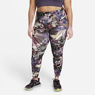 Nike Epic Fast Femme Γυναικείο κολάν μεσαίου ύψους 7/8 για τρέξιμο (μεγάλα μεγέθη)