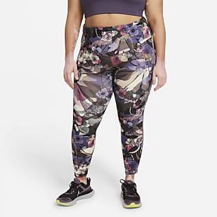 Nike Epic Fast Femme Løpeleggings i 7/8 lengde med mellomhøyt liv til dame (Plus Size)