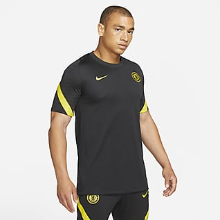 Chelsea FC Strike Pánské fotbalové tričko skrátkým rukávem Nike Dri-FIT
