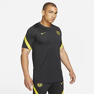 Chelsea FC Strike Playera de fútbol de manga corta para hombre Nike Dri-FIT