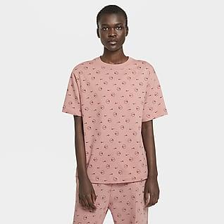 Nike Sportswear T-skjorte med trykk til dame