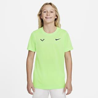 Rafa Tennis-T-Shirt til større børn (drenge)