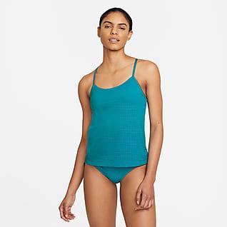 Nike Essential Prenda para la parte superior tankini en capas para mujer