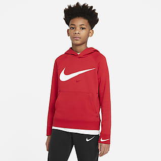 Nike Sportswear Swoosh Hoodie Pullover Júnior (Rapaz)