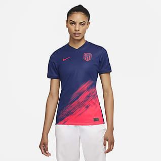 Atlético de Madrid visitante 2021/22 Stadium Jersey de fútbol Nike Dri-FIT para mujer
