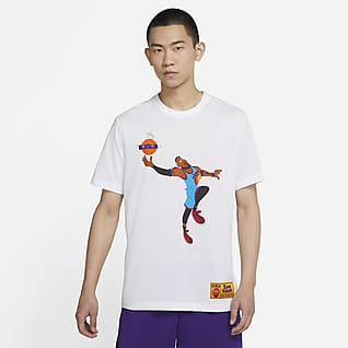 レブロン x スペース プレイヤーズ メンズ ナイキ Dri-FIT バスケットボール Tシャツ