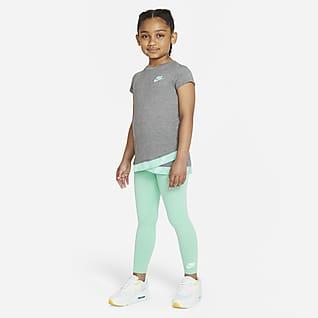 Nike Conjunto de prenda para la parte superior y leggings para niños talla pequeña