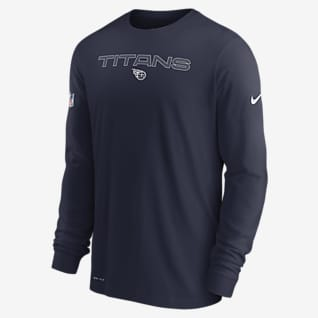 Nike Dri-FIT Sideline Team Issue (NFL Tennessee Titans) Men's Long-Sleeve T-Shirt