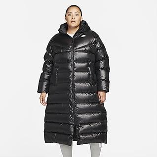 Nike Sportswear Therma-FIT Repel Damen-Parka mit Kapuze (große Größe)