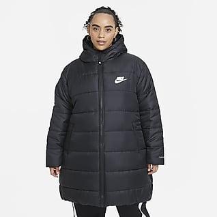 Nike Sportswear Therma-FIT Repel Parka con gorro para mujer (talla grande)