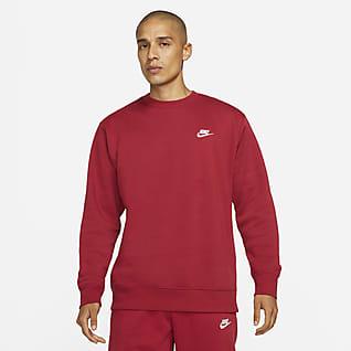Nike Sportswear Club Fleece Kerek nyakkivágású pulóver