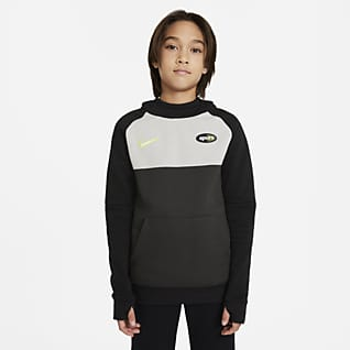Tottenham Hotspur Dzianinowa bluza piłkarska z kapturem dla dużych dzieci