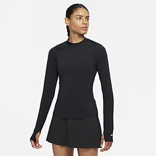 Nike Dri-FIT UV Victory Uzun Kollu Kadın Golf Üstü