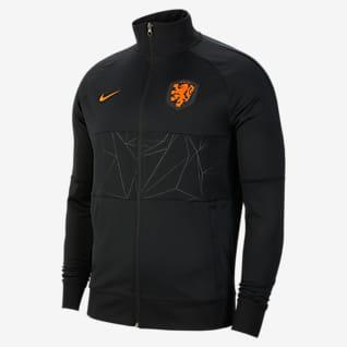 Nederländerna Fotbollsjacka för män