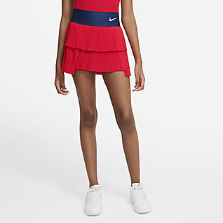 NikeCourt Advantage Faldilla prisada de tennis - Dona