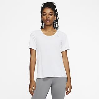 Nike City Sleek Camiseta de running de manga corta para mujer