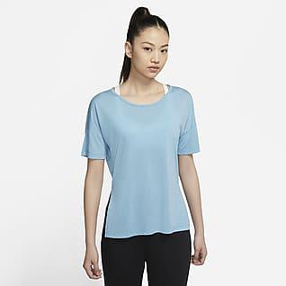 Nike Yoga 女子短袖上衣