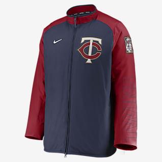 Nike Dugout (MLB Minnesota Twins) Men's Full-Zip Jacket