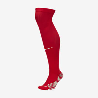 Atlético de Madrid 2020/21 Stadium Home Over-the-Calf-Fußballsocken