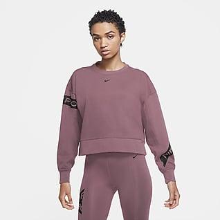 Nike Pro Dri-FIT Get Fit Haut de training pour Femme