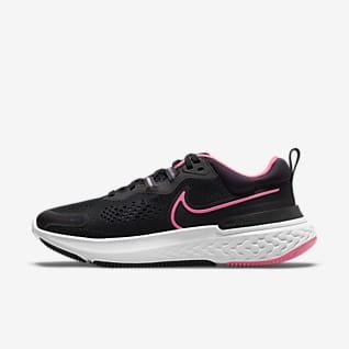 Nike React Miler 2 รองเท้าวิ่งโร้ดรันนิ่งผู้หญิง