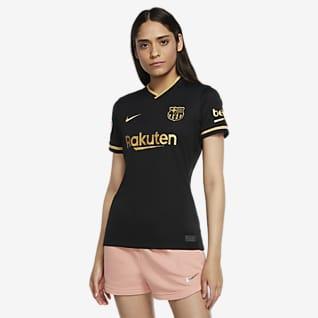 FC Barcelona 2020/21 Stadium (bortedrakt) Fotballdrakt til dame