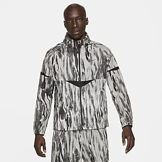 Nike Windrunner Wild Run Мужская беговая куртка с принтом