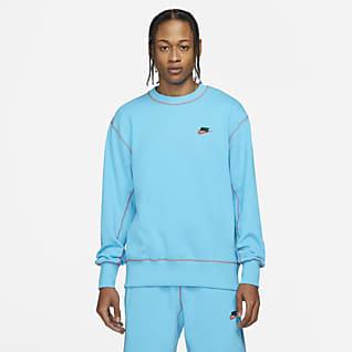 Nike Sportswear Klassiek fleeceshirt met ronde hals voor heren
