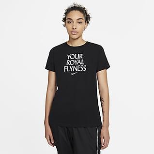 Nike Dri-FIT «Royal Flyness» Basket-T-skjorte til dame