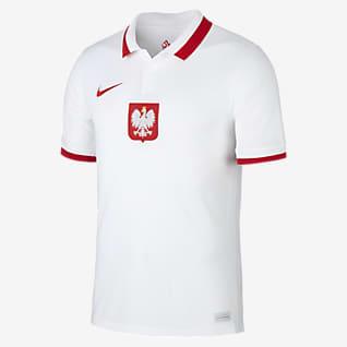 Polen 2020 Stadium Home Fodboldtrøje til mænd