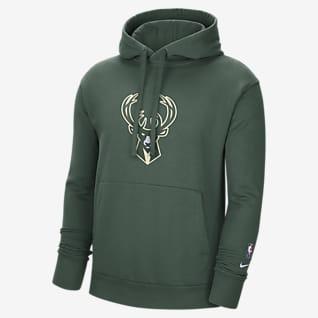 Milwaukee Bucks Essential Men's Nike NBA Fleece Pullover Hoodie