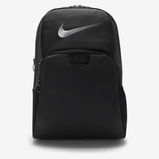 Nike Brasilia Mochila de entrenamiento con estampado para el invierno (grande)