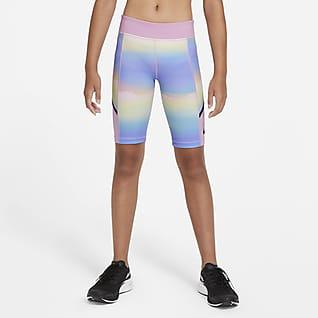 Nike Tech Pack Older Kids' (Girls') Printed Training Shorts