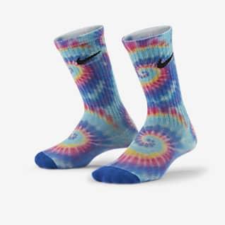 Nike Little Kids' Tie-Dye Crew Socks (3 Pairs)