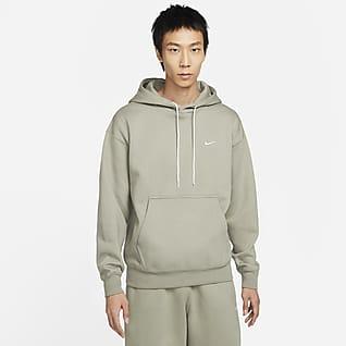 Nike Solo Swoosh 男款 Fleece 連帽上衣