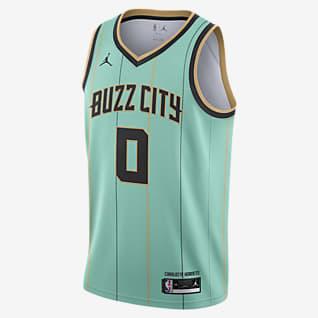 Charlotte Hornets City Edition Jordan NBA Swingman Jersey