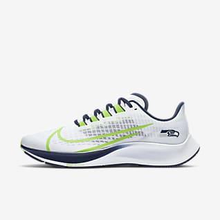 Nike Air Zoom Pegasus 37 (Seattle Seahawks) Running Shoe