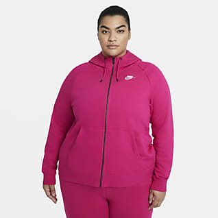 Nike Sportswear Essential (Plus size) Women's Full-Zip Hoodie