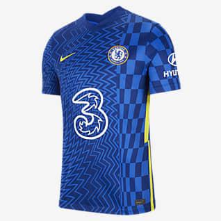 Chelsea FC 2021/22 Stadium Home Fodboldtrøje til mænd