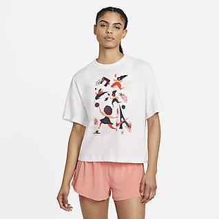 NikeCourt Dri-FIT Tennis-t-shirt för kvinnor