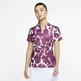 Nike Dri-FIT Victory เสื้อโปโลกอล์ฟพิมพ์ลายผู้หญิง