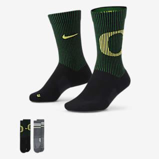 Nike College Multiplier (Oregon) Calcetines largos (2 pares)