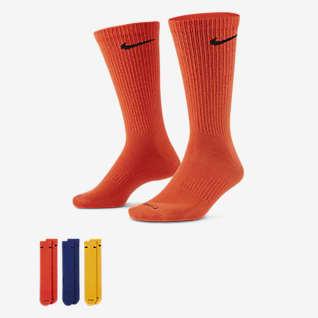 Nike Everyday Plus Lightweight ถุงเท้าเทรนนิ่งข้อยาวผู้ชาย (3 คู่)