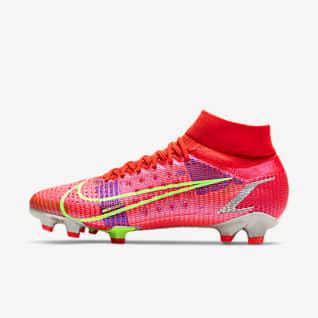 Nike Mercurial Superfly 8 Pro FG Chuteiras de futebol para terreno firme
