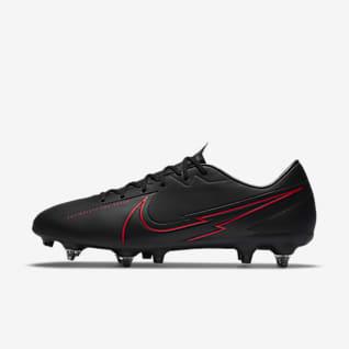 Nike Mercurial Vapor 13 Academy SG-PRO Anti-Clog Traction Fußballschuh für weichen Rasen