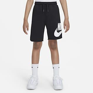 Nike Sportswear Shorts para niño talla grande