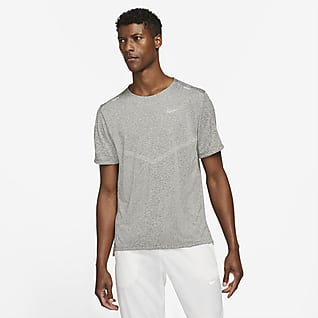 Nike Dri-FIT Rise 365 Мужская беговая футболка с коротким рукавом