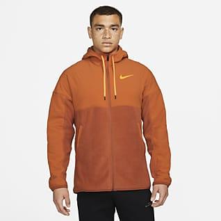 Nike Therma-FIT Мужская худи с молнией во всю длину для зимнего тренинга