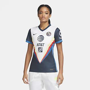 Club América 2020 Stadium de visitante Camiseta de fútbol para mujer