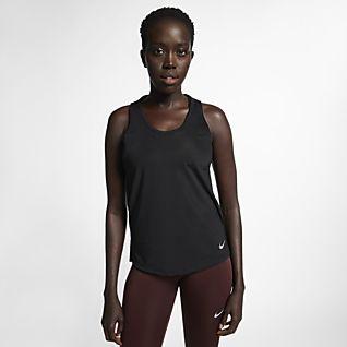 Nike Breathe Miler Женская беговая майка